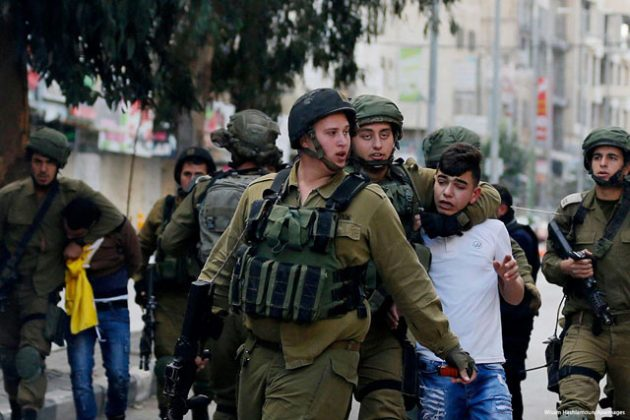Pasukan Israel Menyerang Kamp Bethlehem dan Tahan Orang-orang Palestina