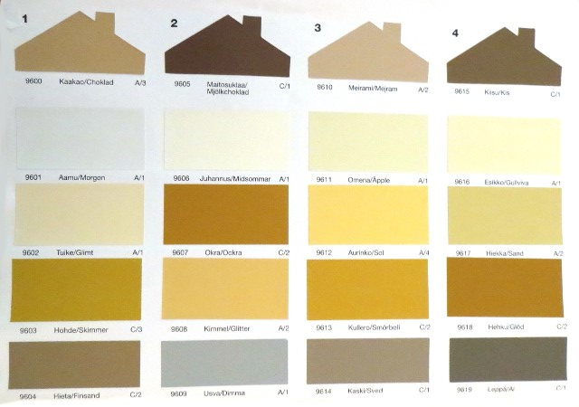 paint chip color chart