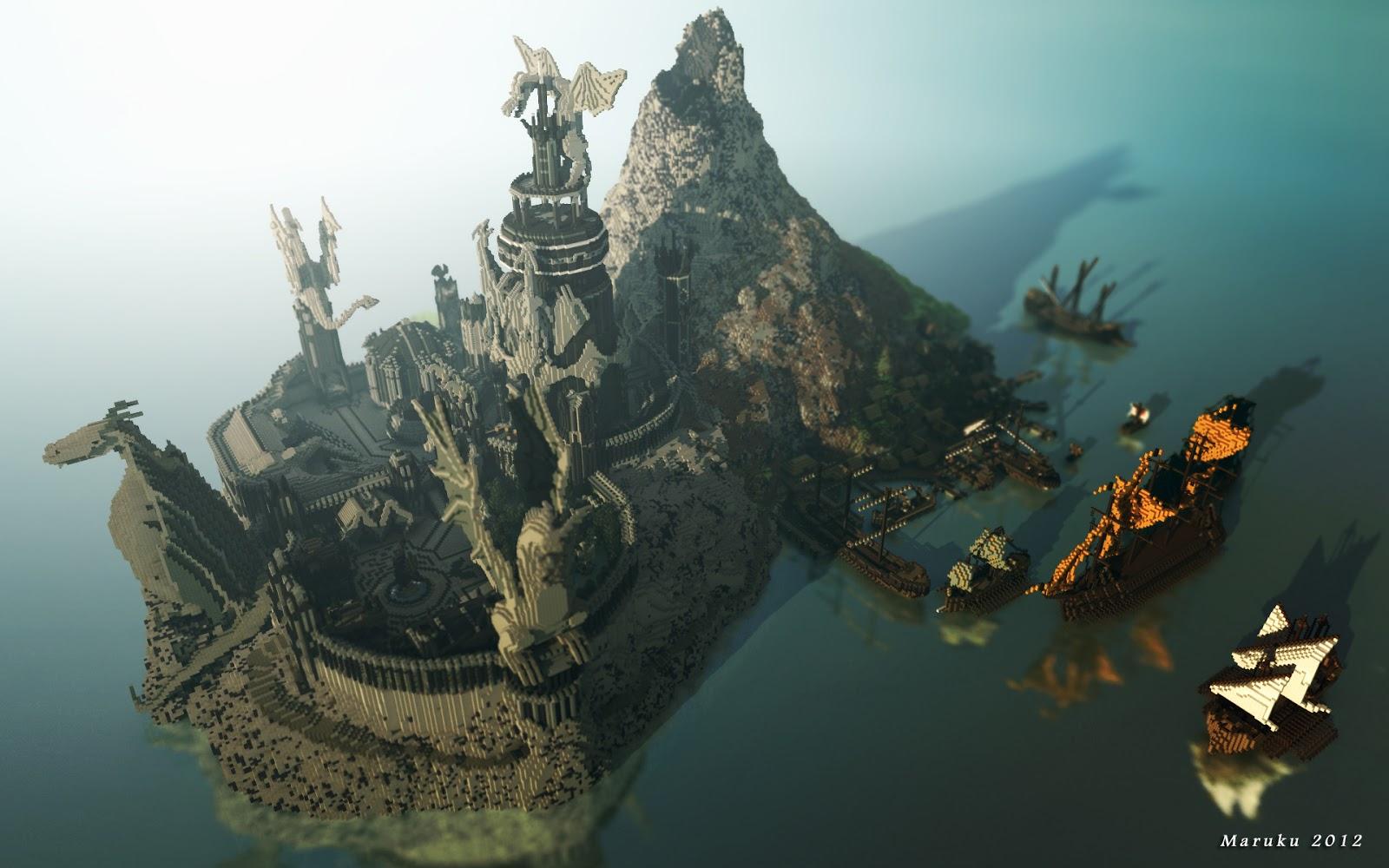 Ten Epic Minecraft Castles For Inspiration | Minecraft Pixel
