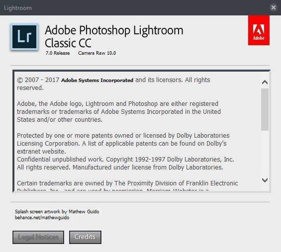 Adobe Lightroom Classic CC 2018