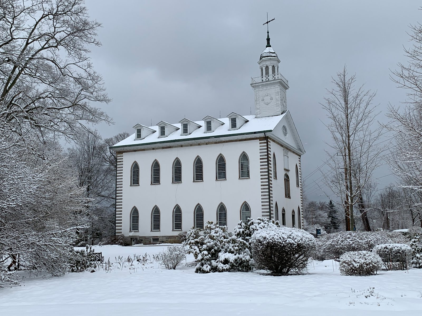 Good Knight Times: Kirtland Ohio Temple