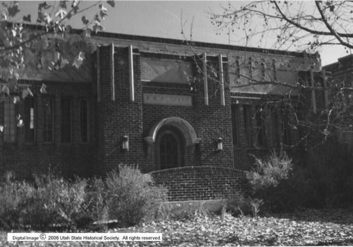 Utah's Present History: Springville Carnegie Library