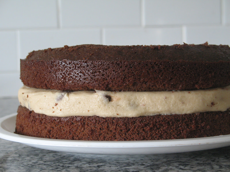 Layered Cookie Cake Recipes: White Family Recipes: Chocolate Chip Cookie Dough Layer Cake