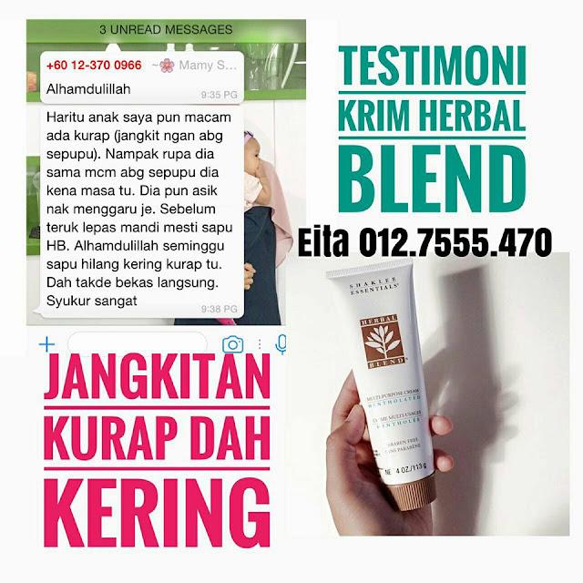 testimoni herbal blend