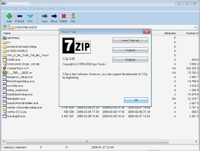 7-Zip Download Software Arsip dan Ekstrak File Gratis Terbaik