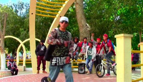 Hip Hop - Arte de nivel desde Villazón