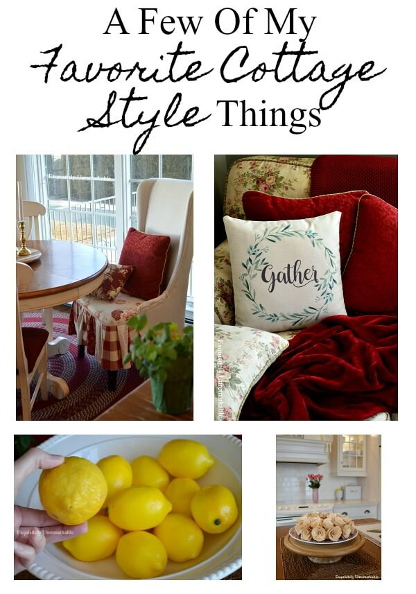 A Few Of My Favorite Cottage Style Things