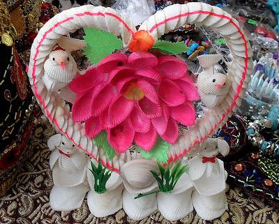 Seashells flower photo