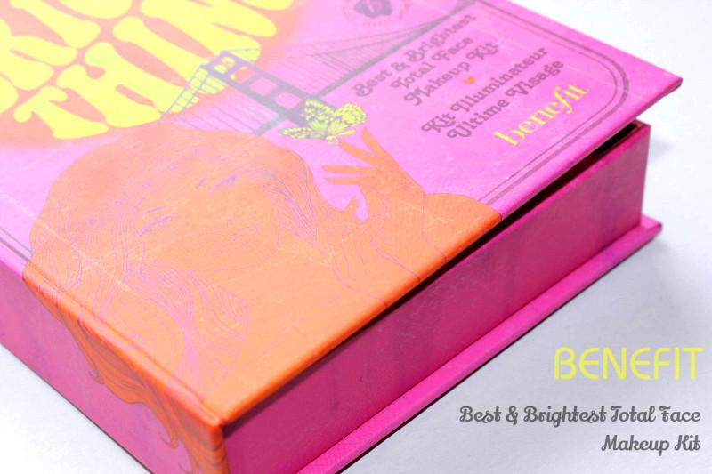 "Отзыв: Набор бестселлеров для макияжа от BENEFIT ""Do the Bright Thing"" Best & Brightest Total Face Makeup Kit."