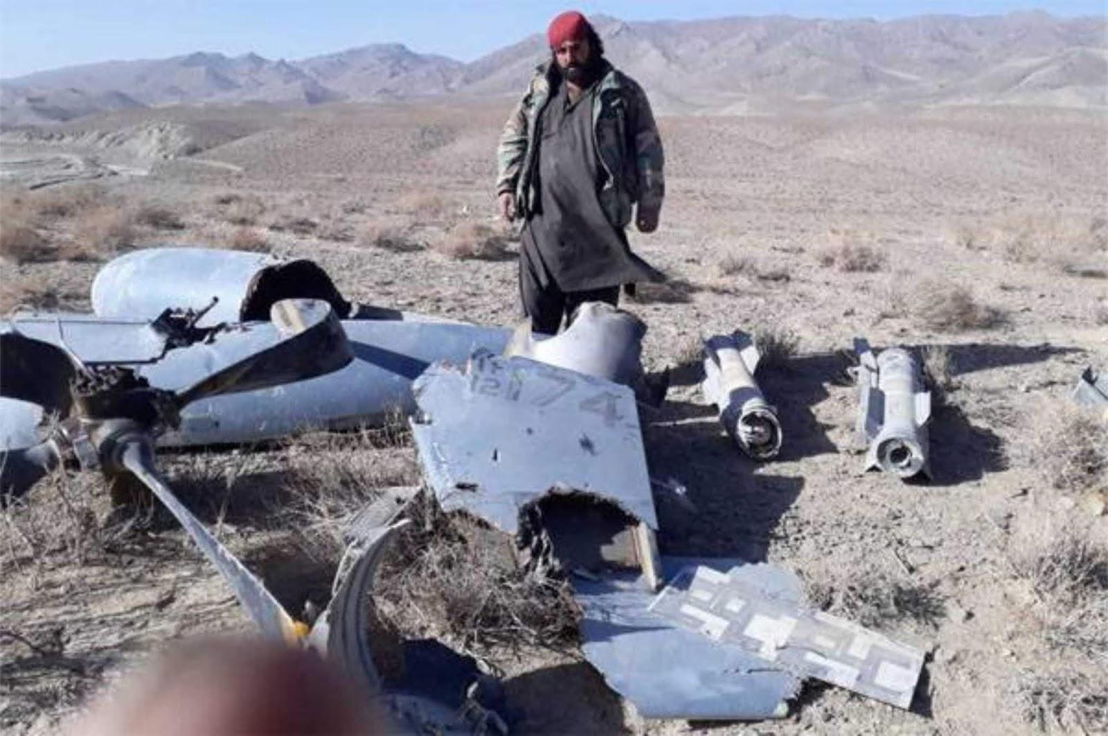 Taliban mengklaim berhasil menembak jatuh MQ-9 Reaper Amerika