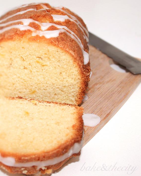 lemon drizzle syrup cake