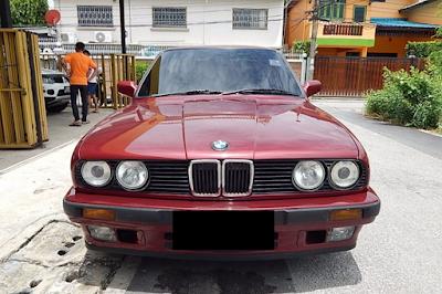 Eksterior BMW E30 M40