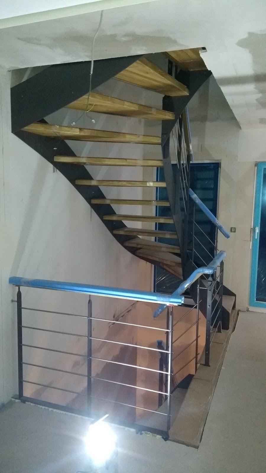Hauser Massivhaus die treppe ist drin wir bauen ein hauser massivhaus