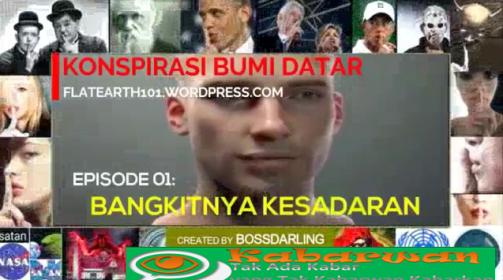 Di serial perdana mengenai Propaganda Bumi Datar, Kabarwan menghadirkan presentasi yang berjudul Bangkitnya Kesadaran