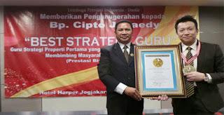 Cipto Junaedy Best Strategy Guru