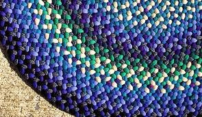 como fazer um tapete trançado