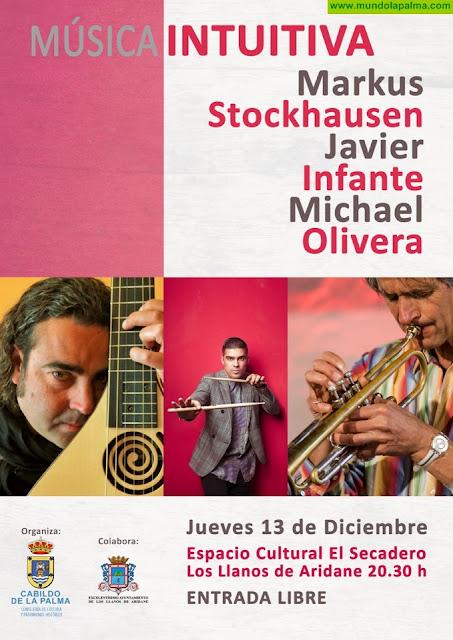 El Cabildo presenta este jueves el espectáculo jazzístico de vanguardia 'Música intuitiva' en Los Llanos de Aridane