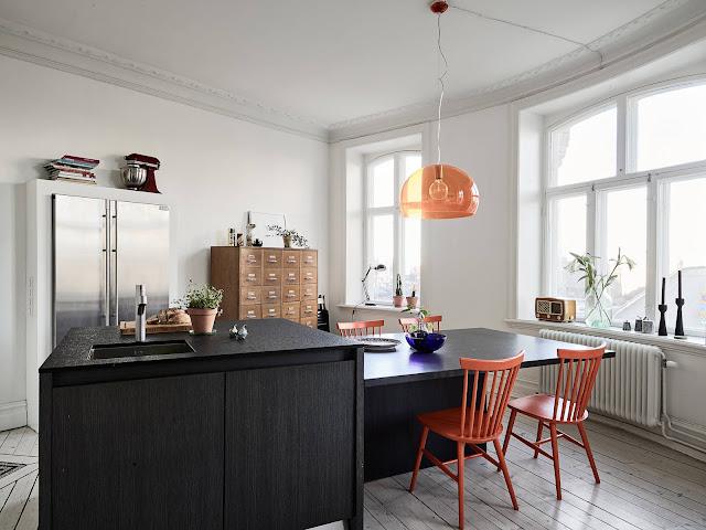 kuchnia retro, skandynawska kuchnia