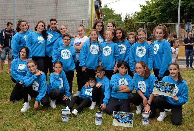 Un grupo de baile urbano infantil busca fondos para ir a Oporto a una competición internacional