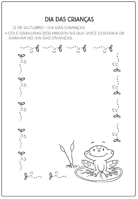 Atividades do Dia das Crianças para Educação Infantil