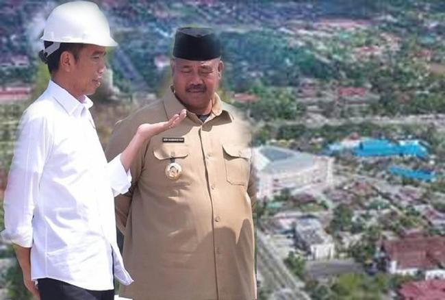 Menilik Palangkaraya Sebagai Ibukota Negara, Jokowi : Kan Sudah Zaman Bung Karno