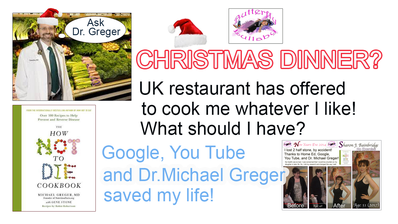 post your comments and ideas for what you think i should eat for christmas dinner and pudding