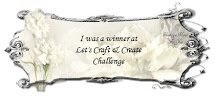 Woohoo! I'm a winner at Lets Craft and Create