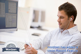 Voice record your email, and let our editors write it for you.