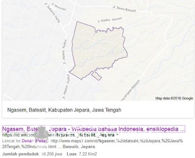 Peta Ngasem Batealit Jepara
