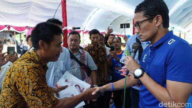 Warga Grobogan Minta Maaf pada Sandi, Masyarakat Dijegal untuk Menghadiri Kampanyenya