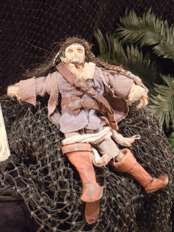 Captain Jack Sparrow voodoo doll prop