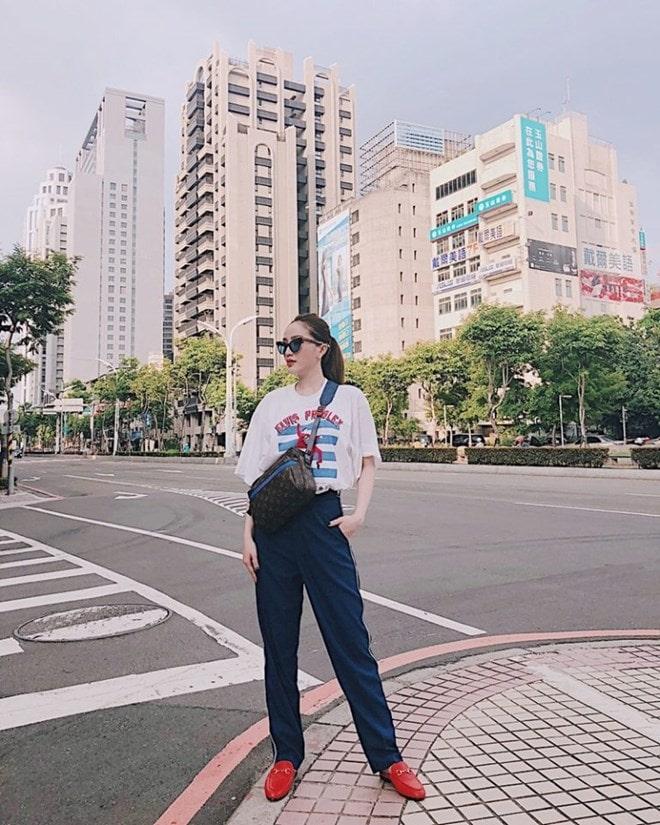Sao Việt khoe street style phóng khoáng, phối đồ tôn chân dài miên man -10