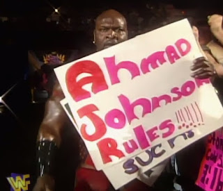 "WWE / WWF - King of the Ring 1997 - Ahmed Johnson - ""These Assholes Can't Spell My Name"""