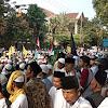 Berjuang sampai Titik Darah Penghabisan, 10 Ribu Pendukung Prabowo Berangkat ke Jakarta