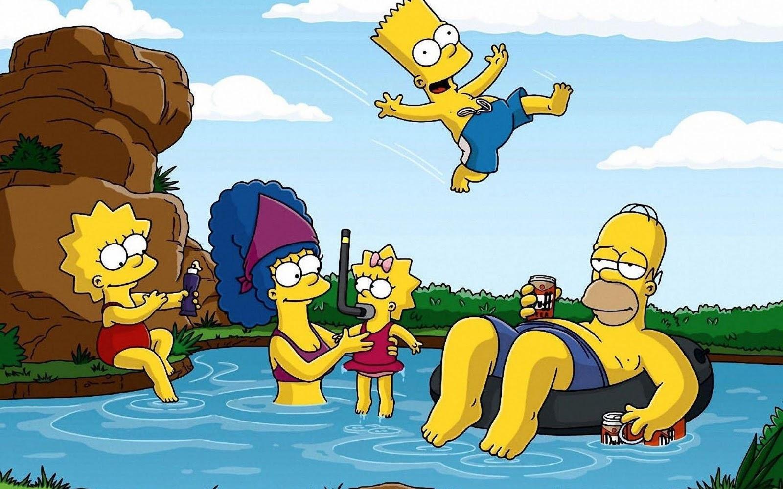 Papel de parede Os Simpsons 2880x1800