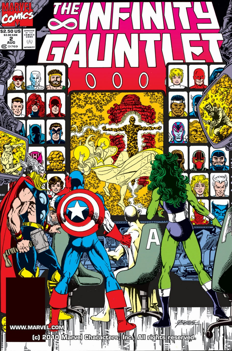 infinity gauntlet | viewcomic reading comics online for free 2018
