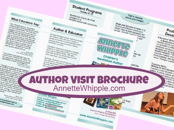 Author Visit Brochure