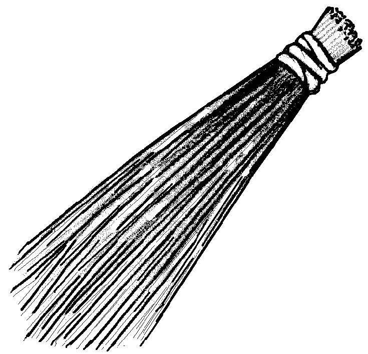 broom coloring pages - photo#13