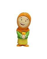 Hafizah Doll Terbaru Warna Oranye