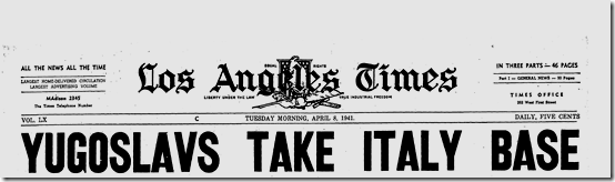 8 April 1941 worldwartwo.filminspector.com LA Times headlines