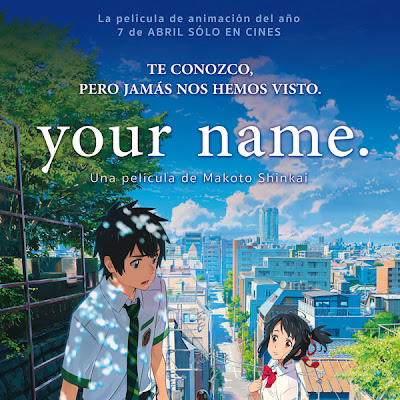 Kimi no Na wa (Your Name) |Castellano/Japonés| |Película| |HD 720p| |Mega|