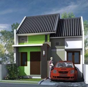 desain model atap rumah kecil type 36 yang tidak panas