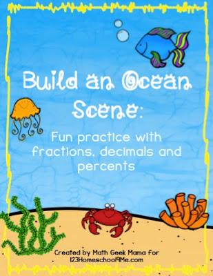 Build an Ocean Math Fraction Game
