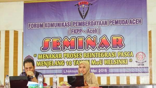 MoU Helsinki Adalah Landasan Politik di Aceh