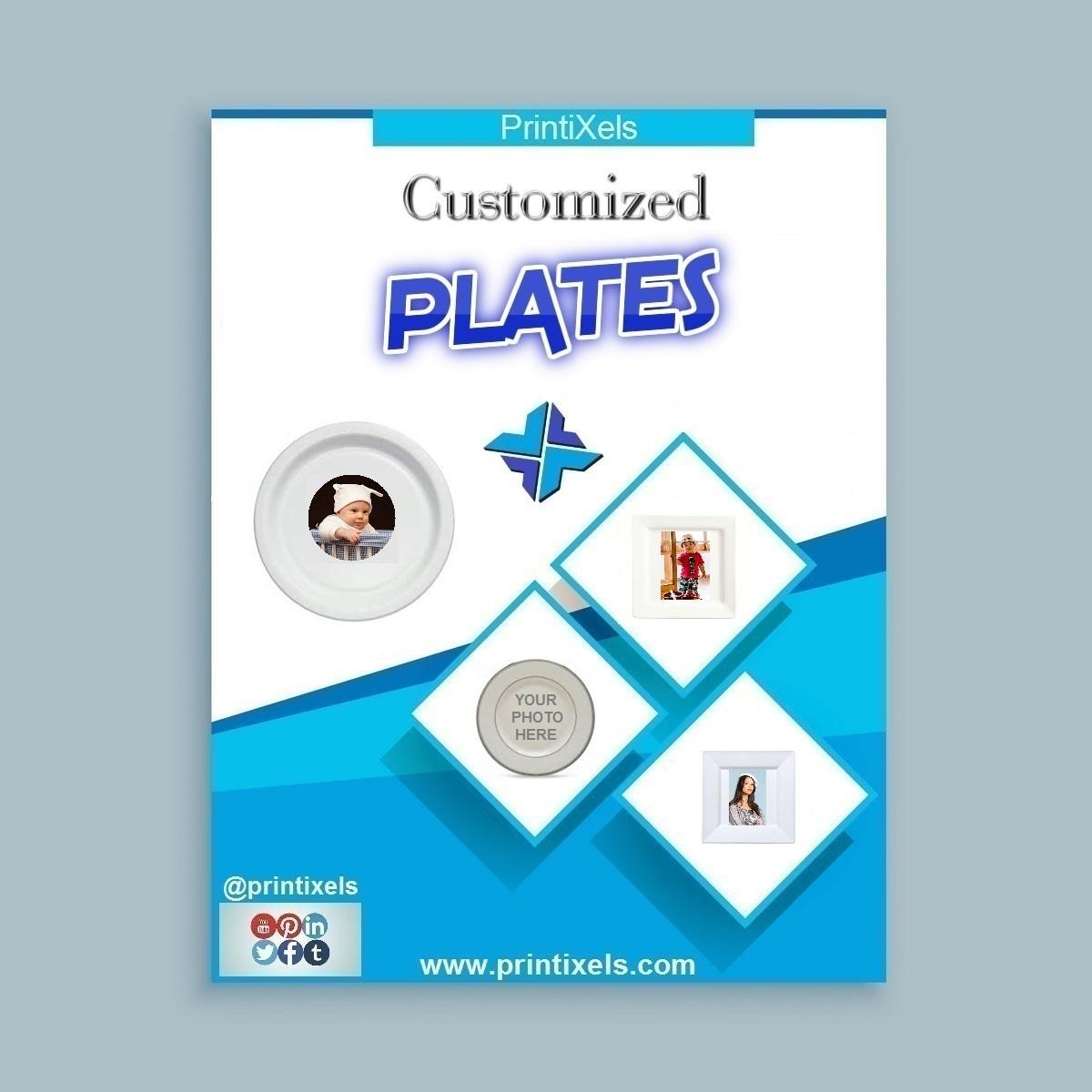Customized Photo Plates