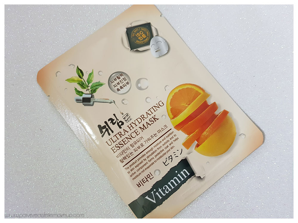 SHELIM Ultra Hydrating Essence Mask Vitamin