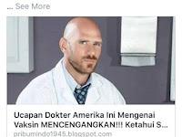 Hoax Dokter Anti Vaksin Asal Amerika Serikat