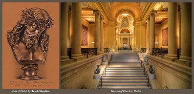Jesus Christ. Bible. New Testament. Museum of Fine Arts, Boston. by Travis Simpkins