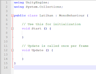 Unity C# Tutorial Indonesia  Basic 2 - Membuat C# Script di Unity