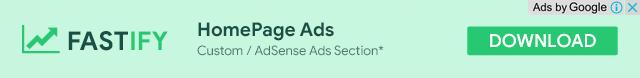 HomePage Ads